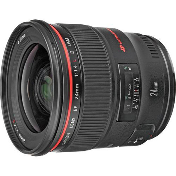 Canon EF 24mm f 1.4L II USM lens