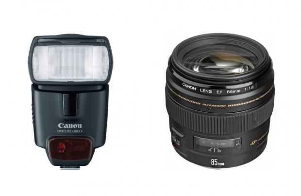 <del>Hot Deal – Speedlite 430EX II for $231, EF 85mm f/1.8 for $310 !</del>