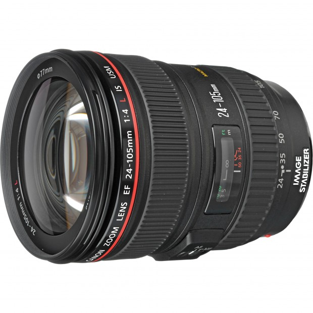 Hot Deal – Refurbished EF 24-105mm f/4L IS USM Lens for $530 !