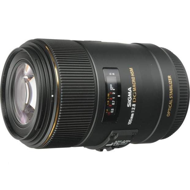 Sigma 105mm f 2.8 DG OS HSM for Canon