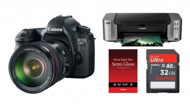 Hot Deal – Canon 6D w/ 24-105mm + Pixma Pro-100 Printer + More for $2,099 !