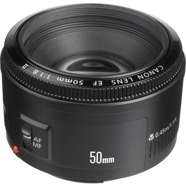 Canon EF 50mm f/1.8 II for $99 !