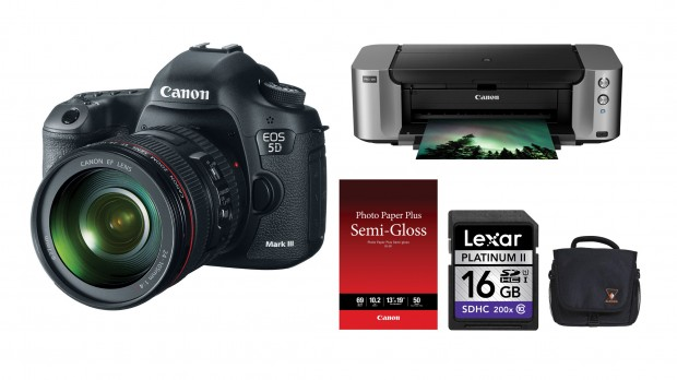 <del>Hot Deal &#8211; 5D Mark III w/ 24-105mm lens + Pixmar Pro-100 Printer + Photo Paper + Memory Card + Camera Bag &#8211; $3,198 !</del>