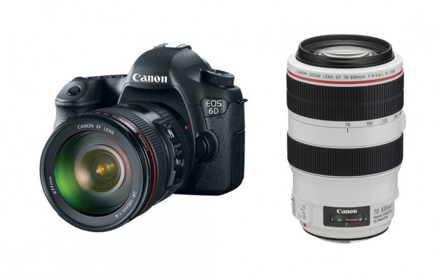 <del>Canon 6D w/ 24-105mm for $1,999, EF 70-300mm f/4-5.6L IS for $1,229</del>