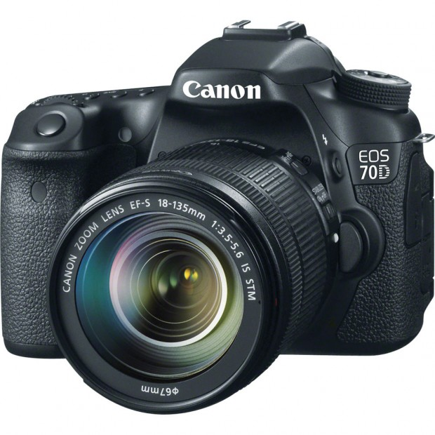 Hot Deal – Canon 70D w/ 18-135mm Lens Kit for $999 !