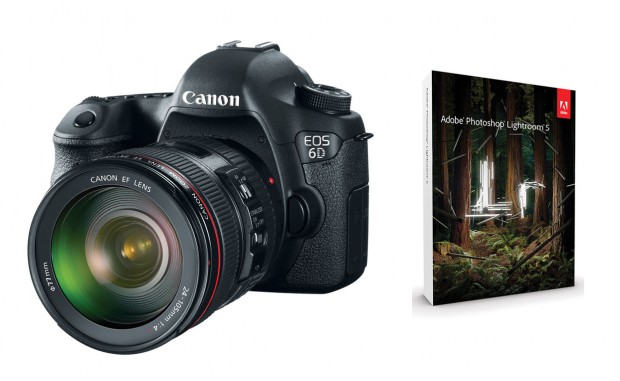 <del>Hot Deal – Canon 6D + 24-105mm Lens + Lightroom 5 for $1,949 !</del>