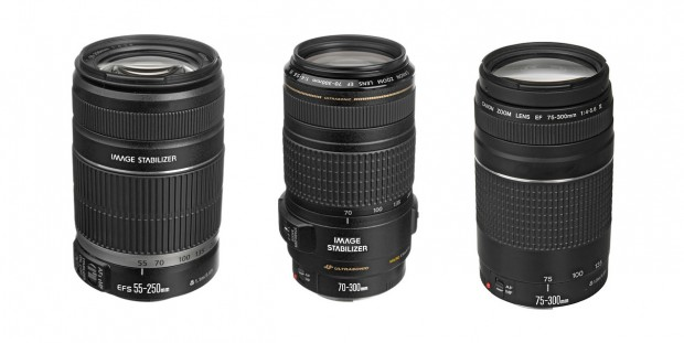 Canon Refurbished Lenses: EF-S 55-250mm f/4-5.6 IS II – $119, EF 70-300mm f/4-5.6 IS USM – $259, EF 75-300mm f/4-5.6 III – $79 !
