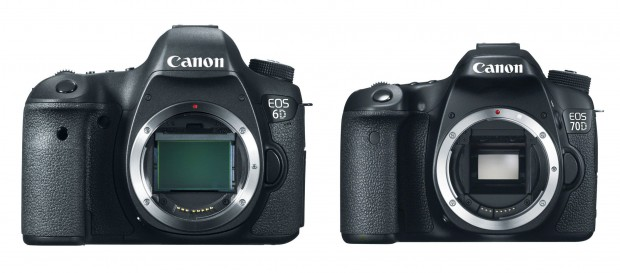 Canon EOS 6D Body for $1,699, 70D Body for $999 !