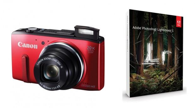 Canon PowerShot SX280 HS w/ Lightroom 5 for $179