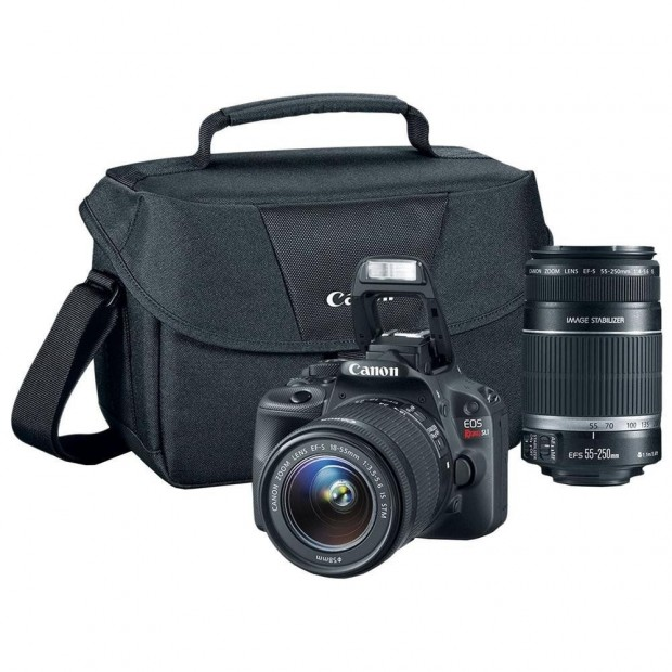 <del>Canon Rebel SL1 w/ 18-55mm & 55-250mm Lenses for $559 !</del>