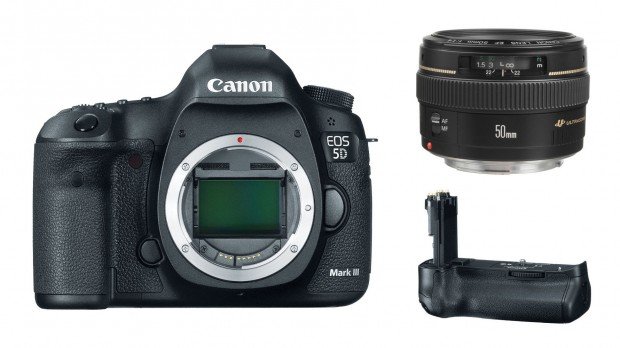 <del>Canon 5D Mark III + EF 50mm f/1.4 USM + BG-E11 Battery Grip for $3,299 (After $200 mail-in rebates)</del>