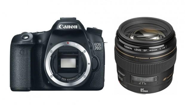 Refurbished Canon 70D for $849, Refurbished EF 85mm f/1.8 USM for $299