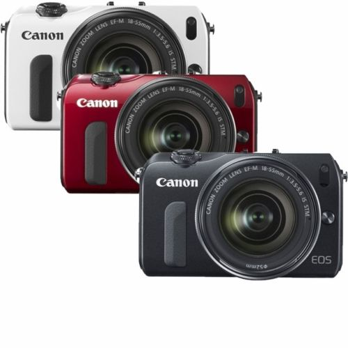 <del>Hot Deal &#8211; Canon EOS M w/ 18-55mm Lens for $249 !</del>