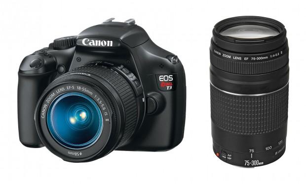 <del>Hot Deal &#8211; Canon T3 w/ 18-55mm + 75-300 lenses for $349 !</del>