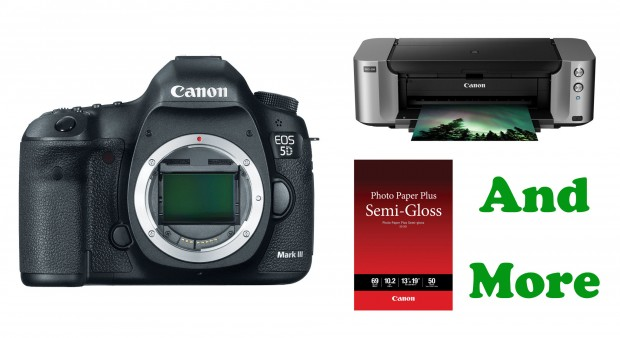 Hot Deal – 5D Mark III + Pro-100 Printer + Photo Paper + More for $2,849 !