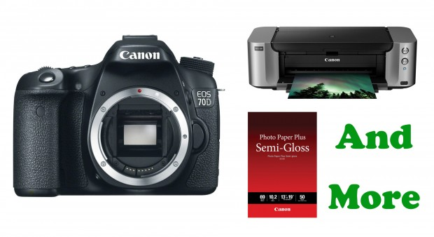 Hot Deal – Canon 70D + Printer + Photo Paper + More for $799 at Adorama !