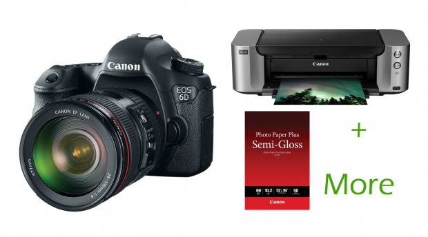 <del>Hot Deal &#8211; Canon 6D w/ 24-105mm + Pro-100 Printer + More for $1,999 at Adorama !</del>