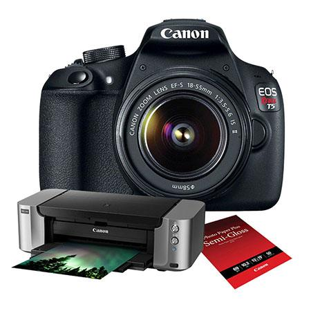 <del>Canon Rebel T5 w/ 18-55mm IS II Lens + Pro-100 Printer + Photo Paper for $349 !</del>