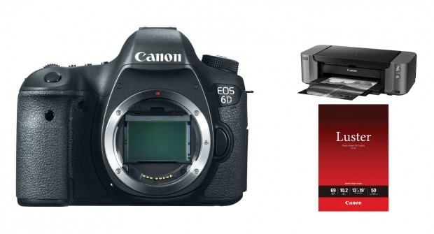 Live Again – Canon 6D + Printer – $1,249, w/ 24-105mm Lens for $1,749 at Adorama !