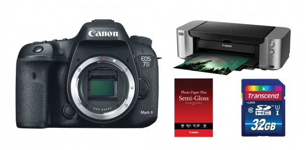 <del>Hot Deal &#8211; Canon 7D Mark II + Pixma Pro-100 Printer + More &#8211; $1,699 !</del>