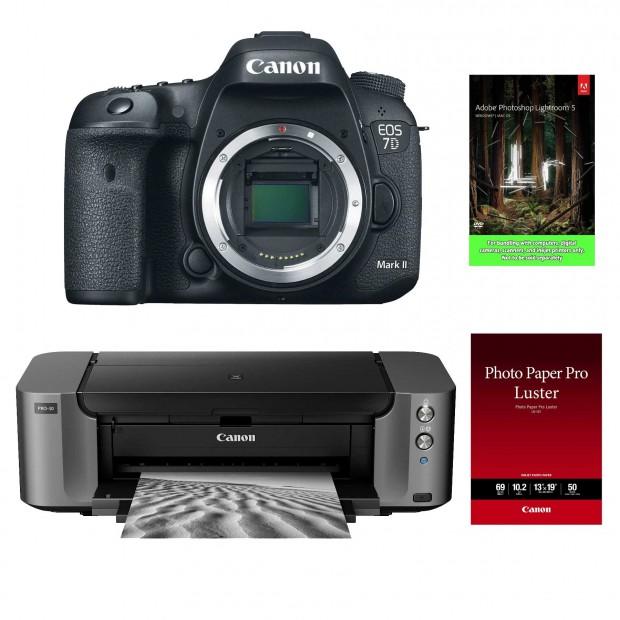 Hot Deal – Canon 7D Mark II + Pixma Pro-10 Printer + Lightroom 5 + More – $1,749 !