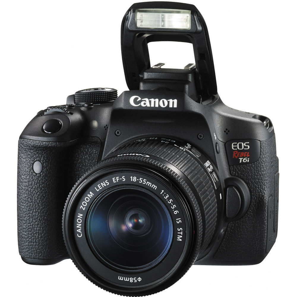 canon eos rebel t6i kit now in stock canon deal