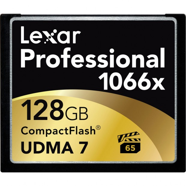 Today Only Deal – Lexar 128GB 1066x CF Card for $139 !