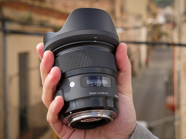 Sigma 24mm f/1.4 DG HSM Art Lens In Stock and Shipping !