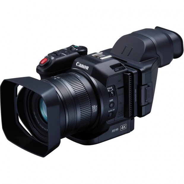 Canon XC10 4K Professional Camcorder now In Stock at B&H Photo & Adorama