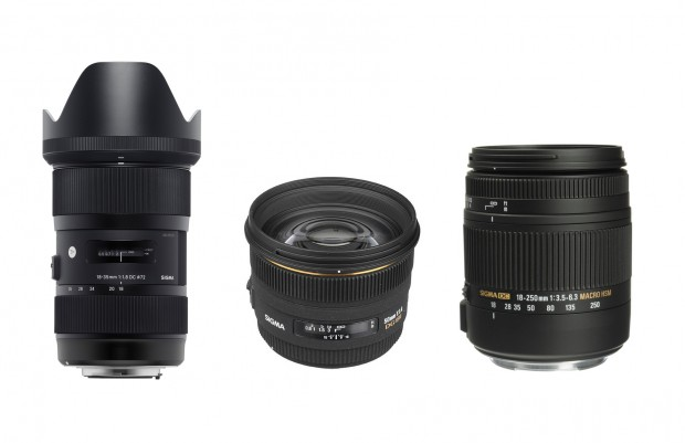 Hot Sigma Lens Deals: 18-35mm f/1.8 for $699, 50mm f/1.4 for $399, Refurbished 18-250 for $249 !