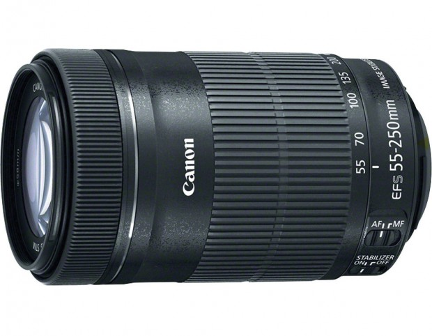 Hot Deal – Refurbished EF-S 55-250mm f/4-5.6 IS STM Lens for $129 !