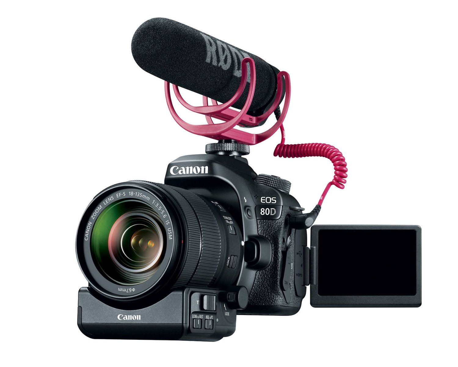 Hot Deal Canon Eos 80d Video Creator Kit For 1 699 At