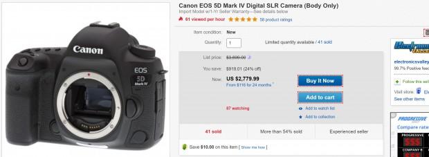 canon 5d m4